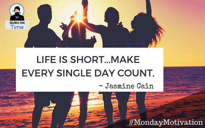 Monday Motivation Jasmine Cain Quotes