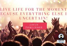 Sunday Funday Quotes, Image by Louis Tomlinson