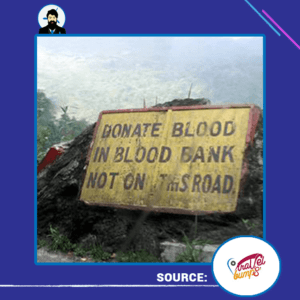 donate-blood-in-blood-bank-not-on-this-road