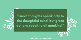 Thursday Vibes Quotes, Image Theodore Roosevelt