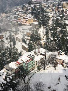 shimla-top-view-snow-fall