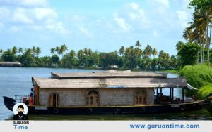 Backwater cruise on Vembanad Lake