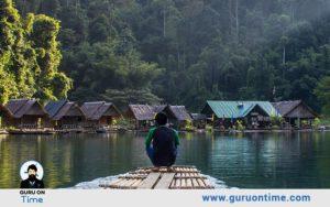 Bamboo Rafting at Periyar Lake