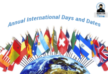 Annual International Days and Dates