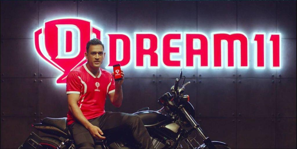 Dhoni and dream 11