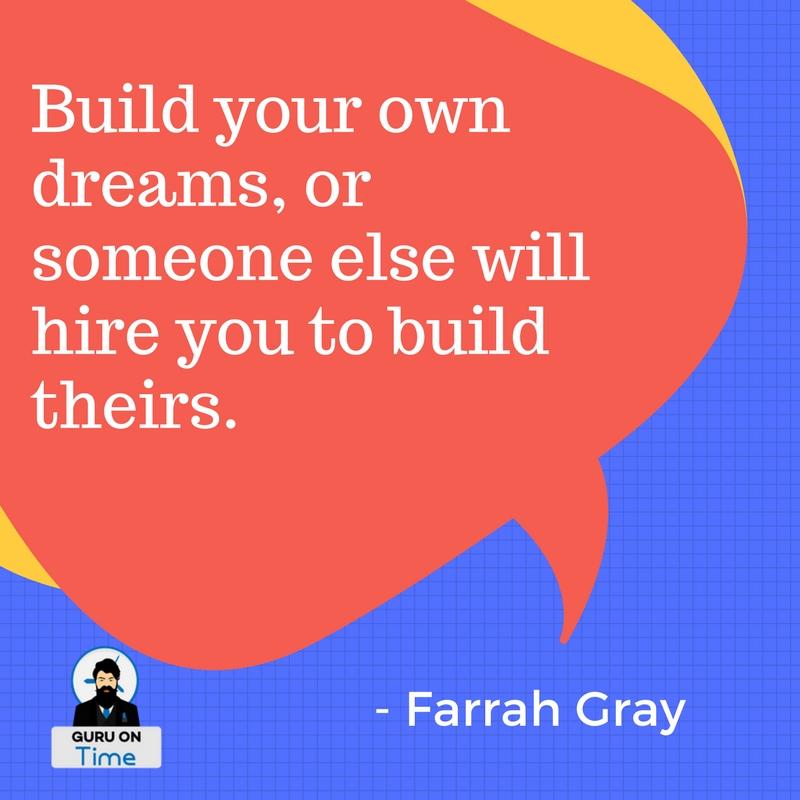 Farrah Gray quotes