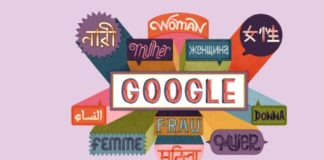 Google Doodle Happy International Women's Day 2019