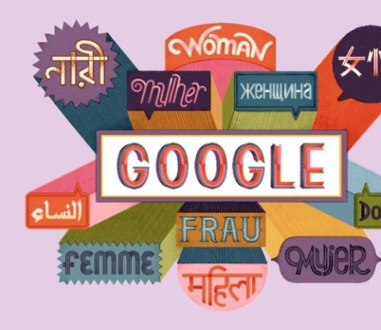 Google Doodle Happy International Women's Day 2019