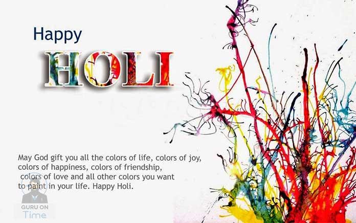 Happy Holi Wishes Wallpaper