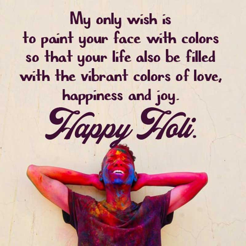 best happy holi messages facebook