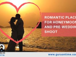 5 World Most Romantic places for Honeymoon and Pre-Wedding Shoot