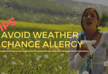 Avoid Weather Change Allergy