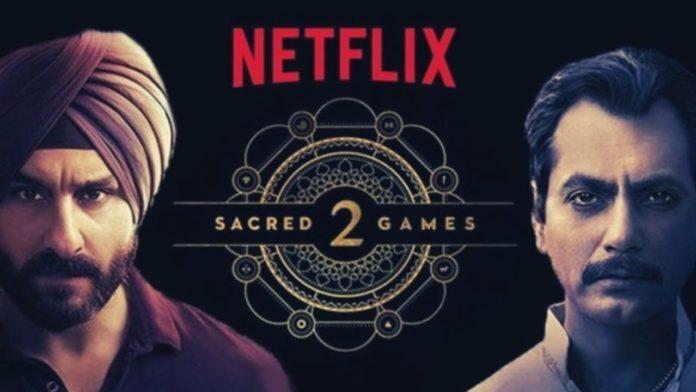 Sacred Games Season 2 accouncement netflix