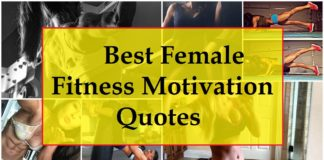 25 Best Female Fitness Motivation Quotes and Images