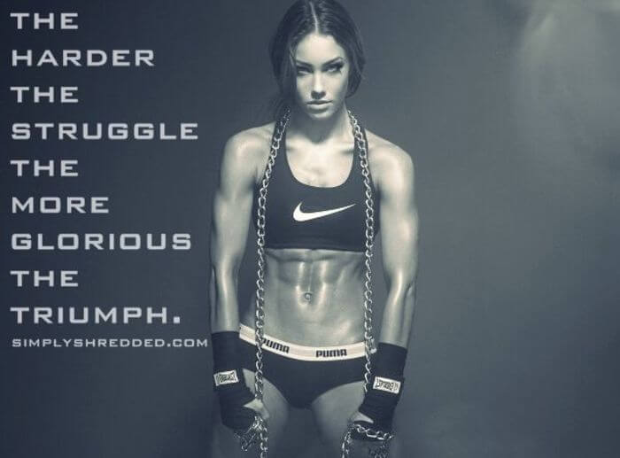 Female Fitness Motivation Quote 13