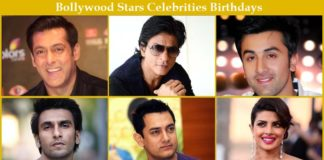 List Of Birthdays Of Indian Celebrities Bollywood