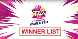 ICC Womens Cricket T20 World Cup Winners List