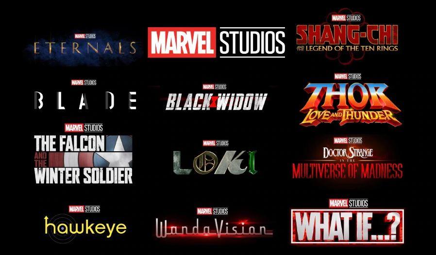 Marvel Cinematic Universe Order 2020 Marvel Cinematic Universe
