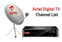 Airtel Digital TV DTH Channel List