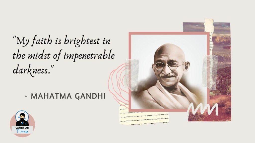 Mahatma Gandhi Great Quotes