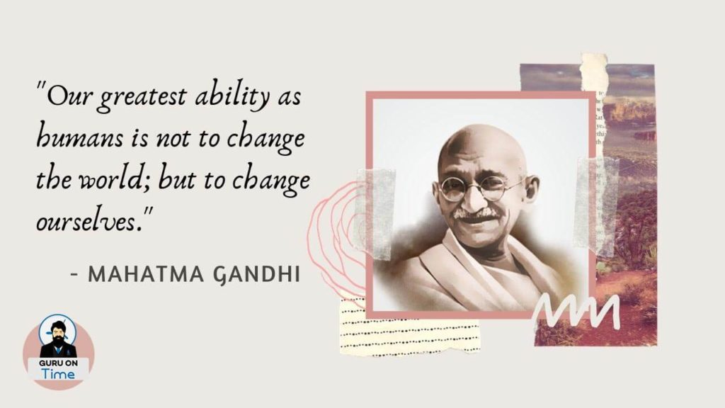 Mahatma Gandhi Quotes Today