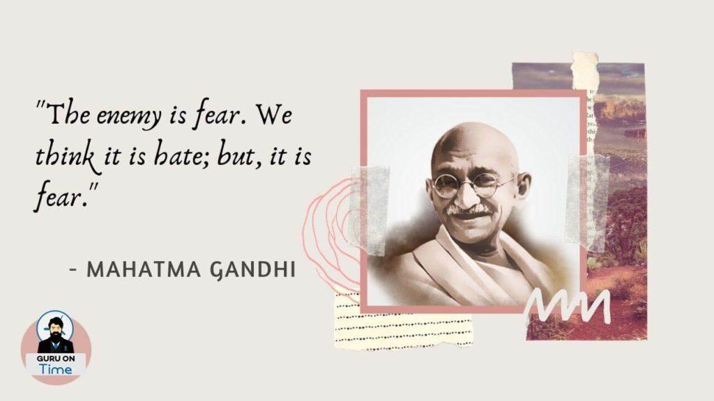 Best Mahatma Gandhi Quotes