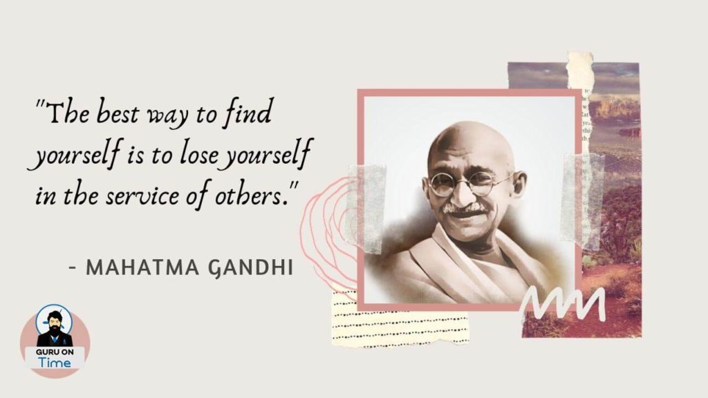 Famous Mahatma Gandhi Saying