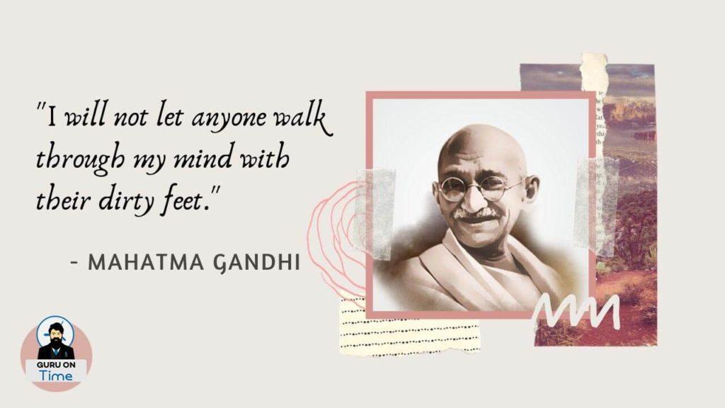 Teaching Of Mahatma Gandhi