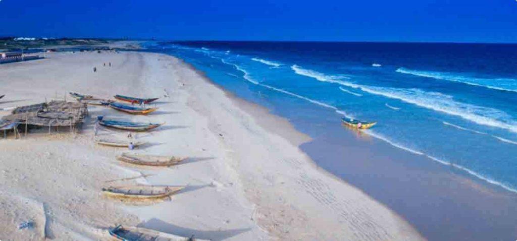Gopalpur Beach in Odisha