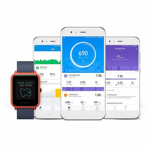 Huami Amazfit Bip Cinnabar Red Smartwatch