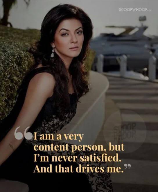 Sushmita Sen inspirational quotes 13