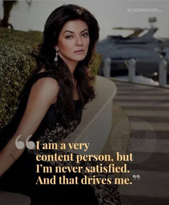 Sushmita Sen inspirational quotes 13