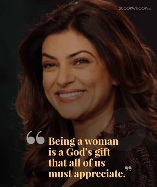 Sushmita Sen inspirational quotes 15