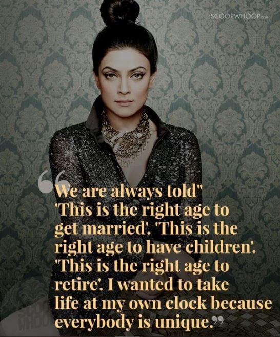 Sushmita Sen inspirational quotes 20