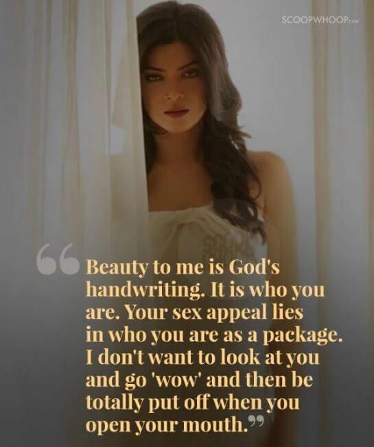 Sushmita Sen inspirational quotes 23