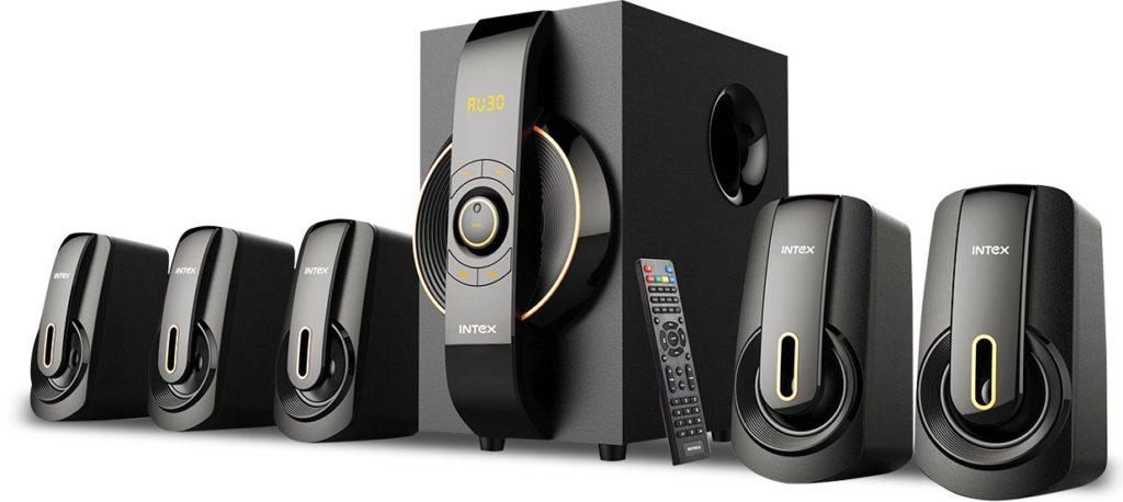 Intex Portable Bluetooth Home Audio Speaker