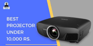 Best projector below 10K