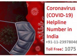 Coronavirus Helpline Numbers States and Union Territory in India