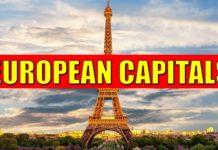 List of European Capitals