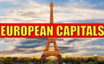 List of European Capitals