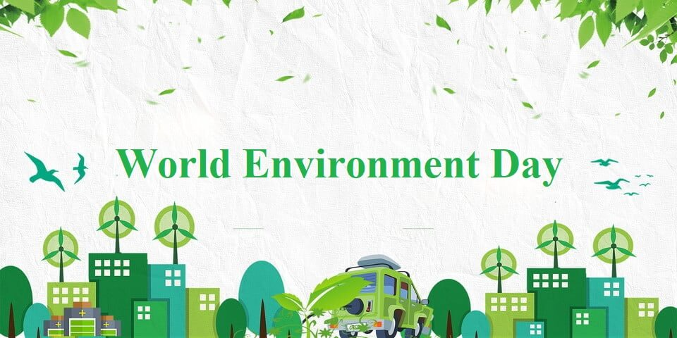 poster on environment day