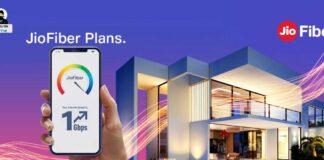 Jiofiber Broadband plan