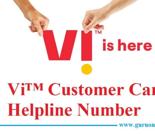 Vi Vodafone Idea Customer Care Helpline Number